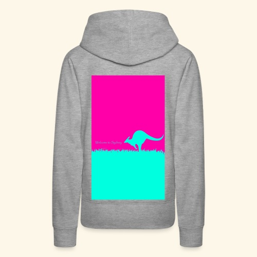Welcome to Sydney - Women's Premium Hoodie