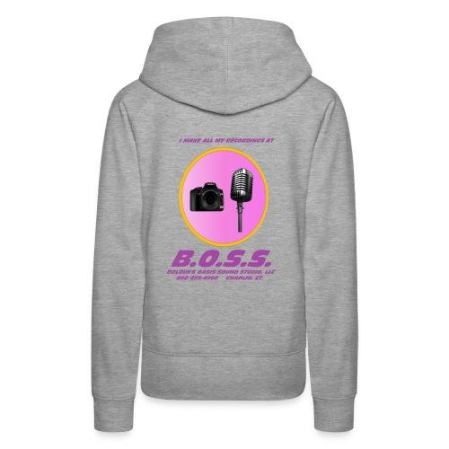 Make All My Recordings at B.O.S.S. - Women's Premium Hoodie