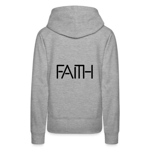 Faith tshirt - Women's Premium Hoodie