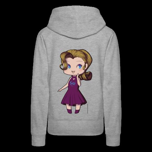 Anime Chibi Girl - Women's Premium Hoodie