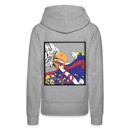 Eagle blah blah blah - Women's Premium Hoodie