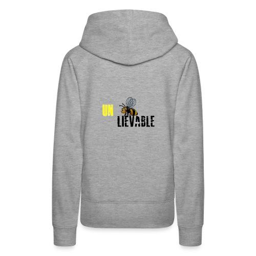 Unbee lievable Bee Design - Women's Premium Hoodie