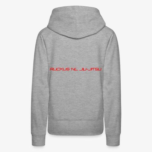 Ruckus Jiu Jitsu - Women's Premium Hoodie