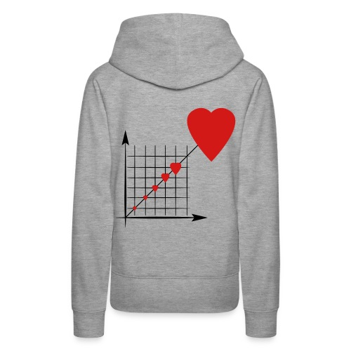 Love Diagram - Women's Premium Hoodie