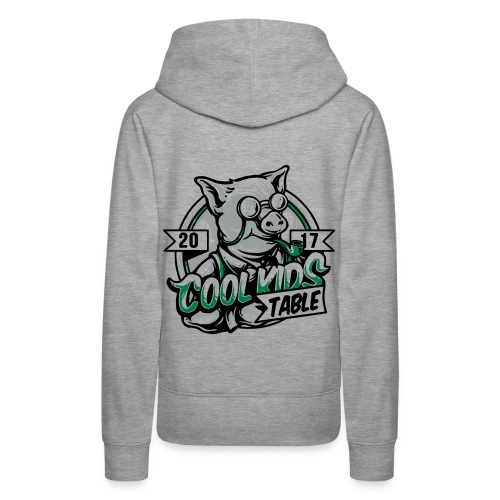 cool kids table pig - Women's Premium Hoodie
