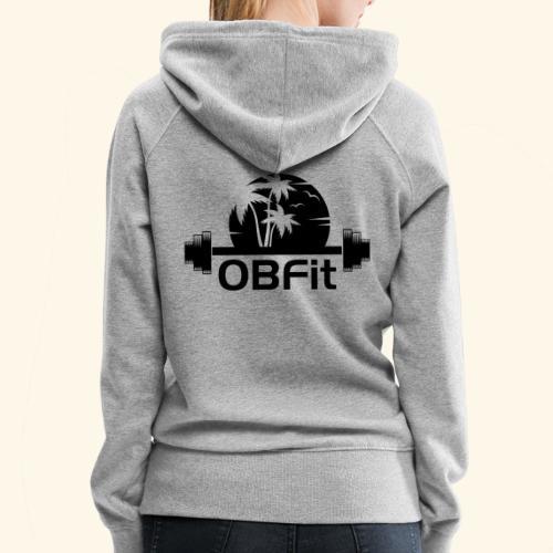 OB Fit Black - Women's Premium Hoodie