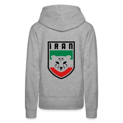Iran Cheetah Badge - Women's Premium Hoodie