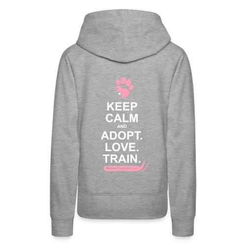 RescueDogs101 Keep Calm - Women's Premium Hoodie