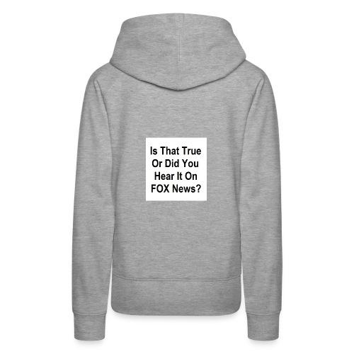Spread Design 01 - Women's Premium Hoodie