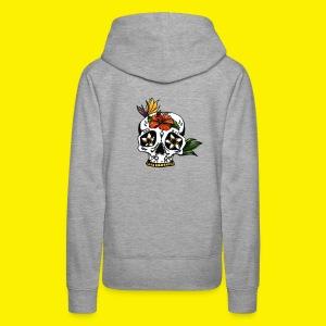 Candy Skull - Women's Premium Hoodie