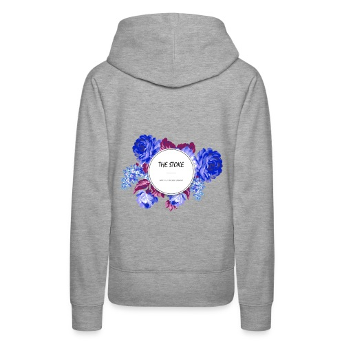 The Stoke Badge Floral - Women's Premium Hoodie
