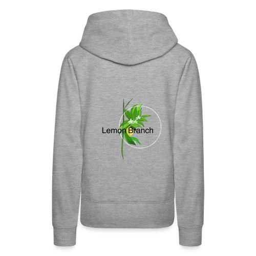 Lemon Branch - Women's Premium Hoodie