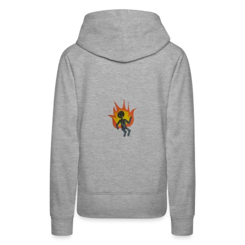 REEF BURNING MAN - Women's Premium Hoodie