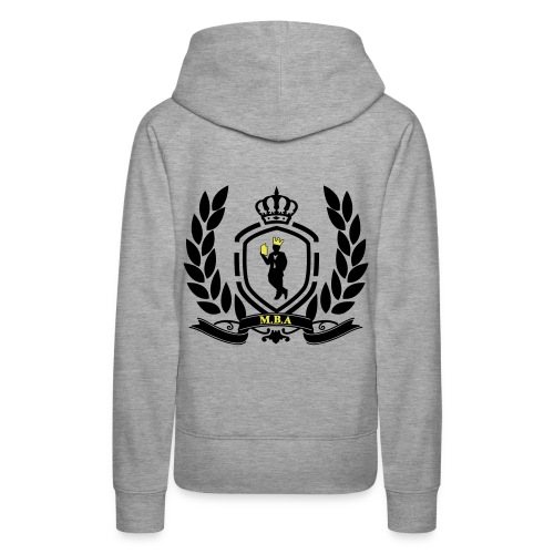 Conscious King (Crest) - Women's Premium Hoodie