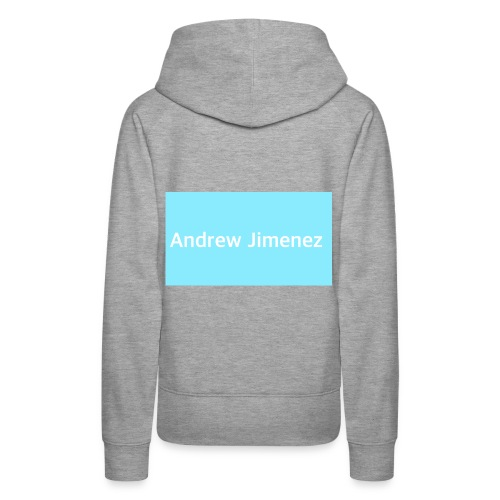 I'm Andrew and I love to sing and do diy - Women's Premium Hoodie