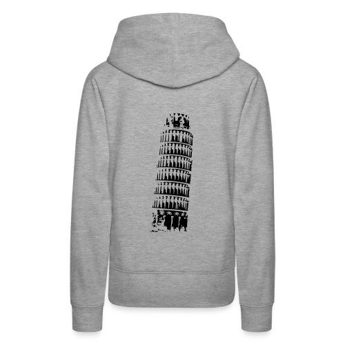 Leaning Tower of Pisa - Women's Premium Hoodie