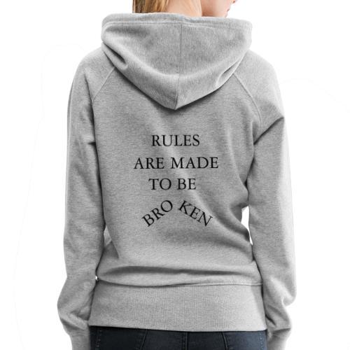 rules - Women's Premium Hoodie