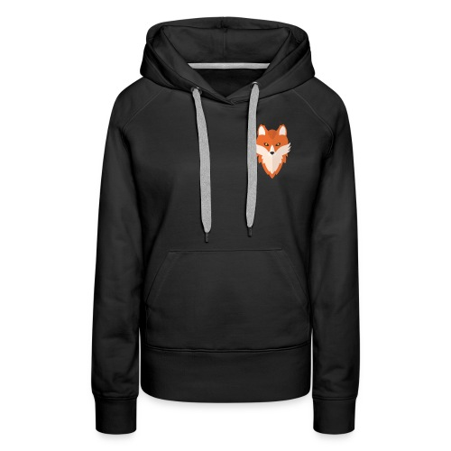 Abstract Fox - Women's Premium Hoodie