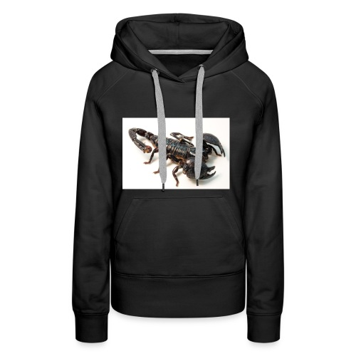 1200px Female Emperor Scorpion - Women's Premium Hoodie