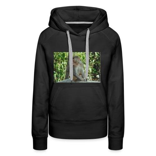 the monkey picture - Women's Premium Hoodie