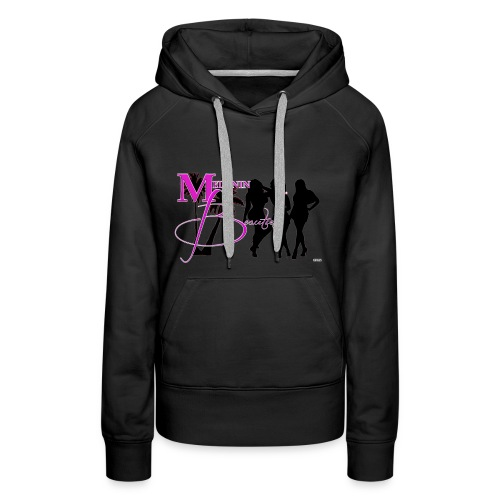 CRAVUS MELANIN BEAUTIES 22 - Women's Premium Hoodie