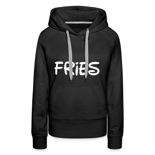 fries with heart - Women's Premium Hoodie