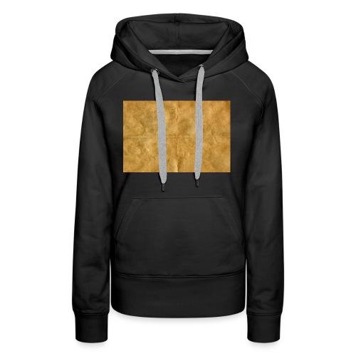 golden block rock - Women's Premium Hoodie