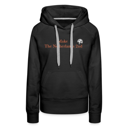 Make The Netherlands 2nd - Women's Premium Hoodie