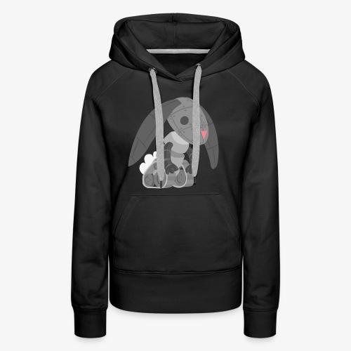Robot Bunny - Women's Premium Hoodie