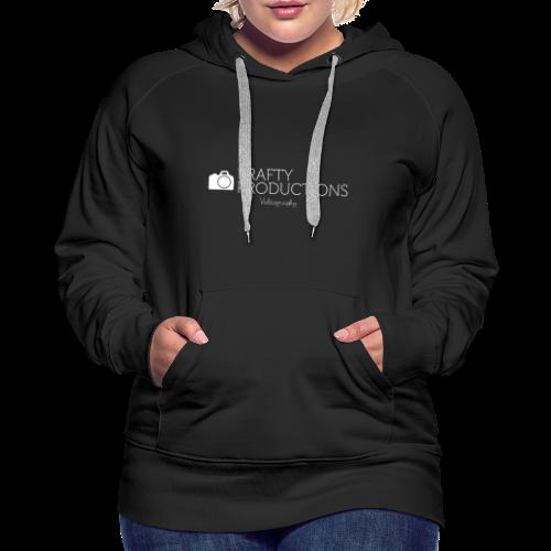 White Krafty Productions Logo - Women's Premium Hoodie