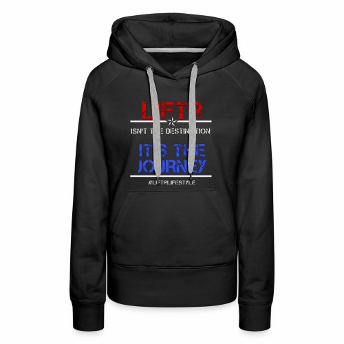 Liftr Journey - Women's Premium Hoodie