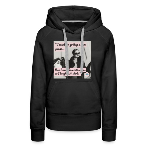 Shopping Problems - Women's Premium Hoodie