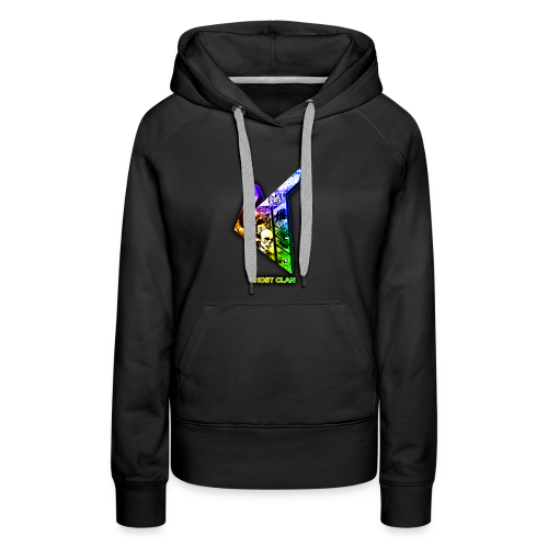 GhosT Clan Abstract Rainbow - Women's Premium Hoodie