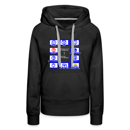 Today I feel... Moreminds Edition - Women's Premium Hoodie