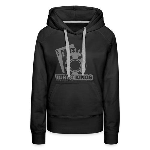 Turbokingslogo_b/w - Women's Premium Hoodie