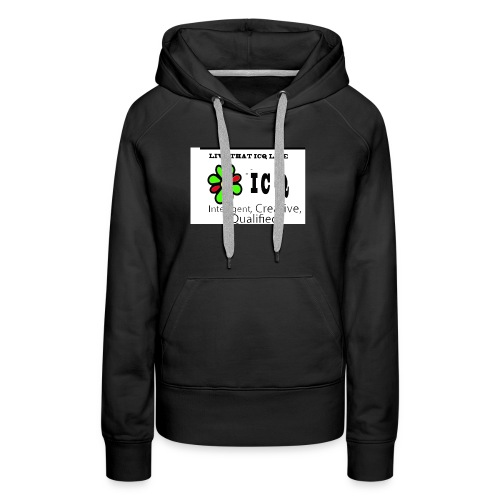 bunk new ICQ edited 33 - Women's Premium Hoodie