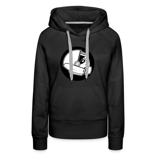 Space Sloth Logo - Women's Premium Hoodie
