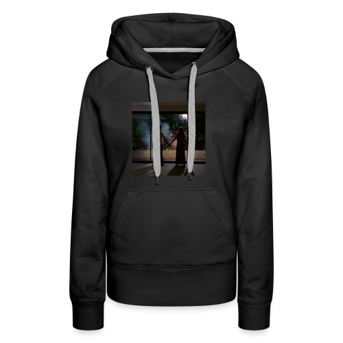 Mum look at me, I'm really okay. - Women's Premium Hoodie