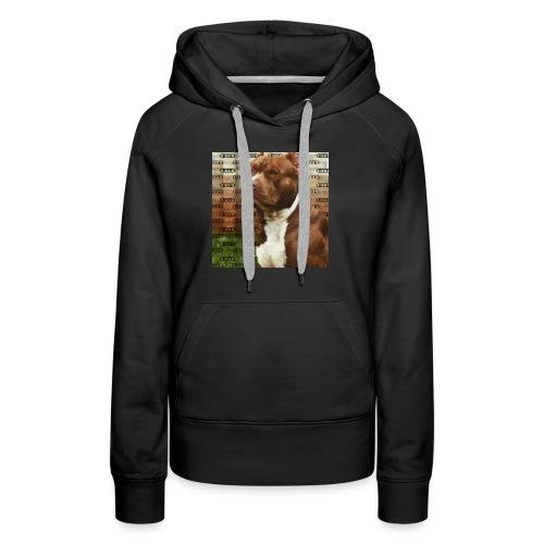 Pitbull- Faith Thread - Women's Premium Hoodie