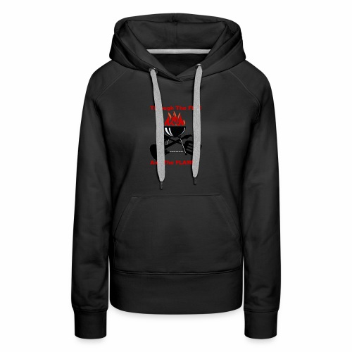 Fire and Flames BBQ - Women's Premium Hoodie
