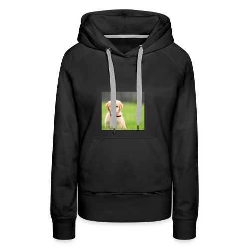 Cute puppy Clothing dogs pets cute fur happy - Women's Premium Hoodie