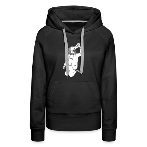 Drinking Chimpo White body - Women's Premium Hoodie