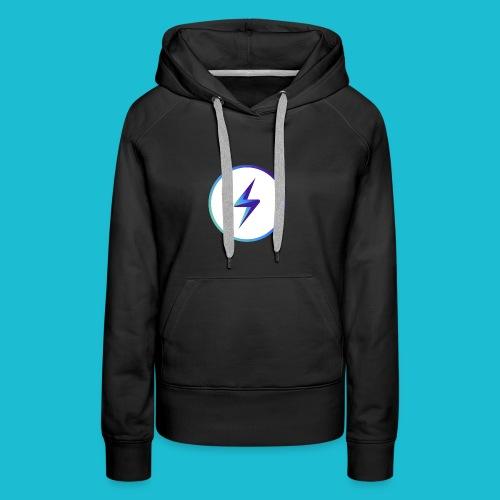 lightning logo - Women's Premium Hoodie