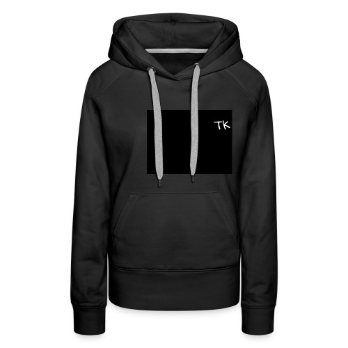 Thom Kenobi hoodies TK initials gloria hallelujah - Women's Premium Hoodie