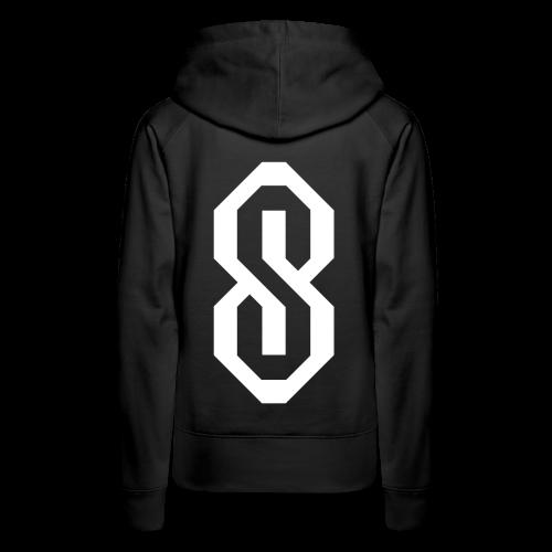 White S Logo - Women's Premium Hoodie