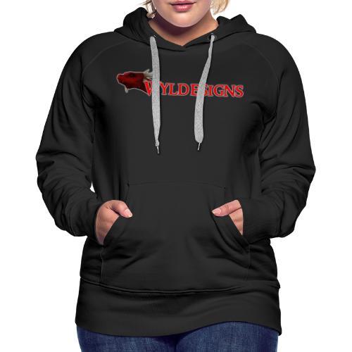 Wyldesigns Logo - Women's Premium Hoodie