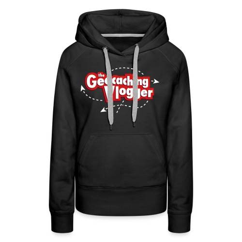 Gilldan Geocaching Vlogger T-Shirt - Women's Premium Hoodie