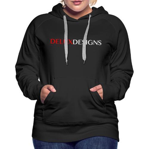Delux Designs (white) - Women's Premium Hoodie