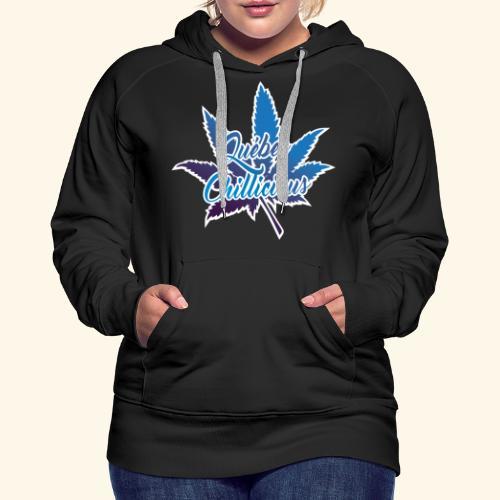 One Leaf Quebec Chillicious clothing brand - Women's Premium Hoodie