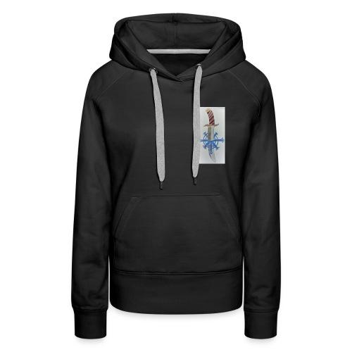 Snow assassin emblem - Women's Premium Hoodie